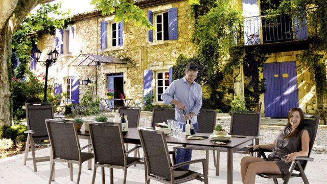 Sieger Gartenmöbel für Privat und Gastronomie